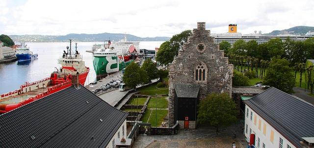 Håkonshalle in Bergen flickr (c) maverick Dal CC-Lizenz