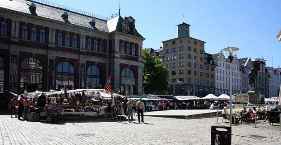 Shopping in Bergen flickr (c) Vilde Lauritzen CC-Lizenz
