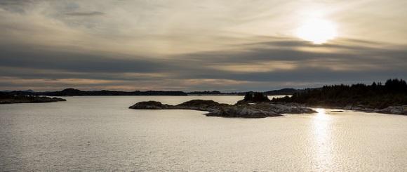 Inseln vor Bergen
