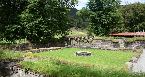 Lysekloster bei Bergen in Norwegen