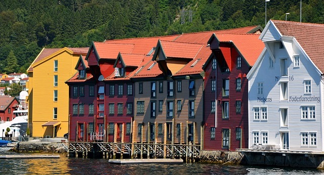 Bergen in Norwegen